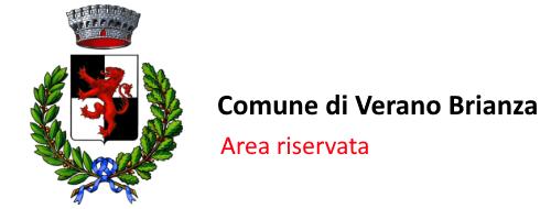 Area Riservata - Comune Verano Brianza